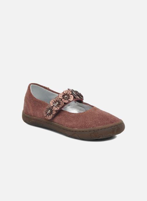 Ballerinaer Pom d Api MAPPLE VELCRO SANDAL Pink detaljeret billede af skoene