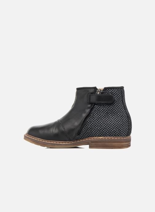 Bottines et boots Pom d Api RETRO BACK Noir vue face