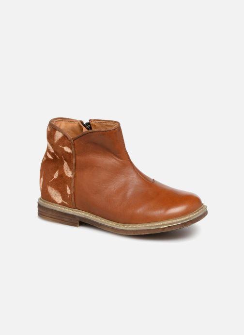 Bottines et boots Pom d Api RETRO BACK Marron vue détail/paire