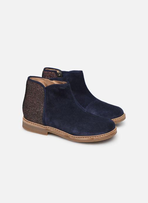 Boots en enkellaarsjes Pom d Api RETRO BACK Blauw 3/4'