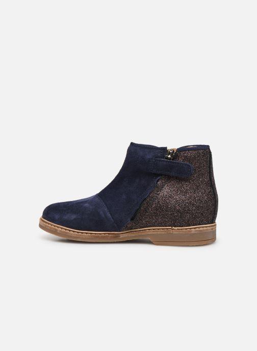 Boots en enkellaarsjes Pom d Api RETRO BACK Blauw voorkant