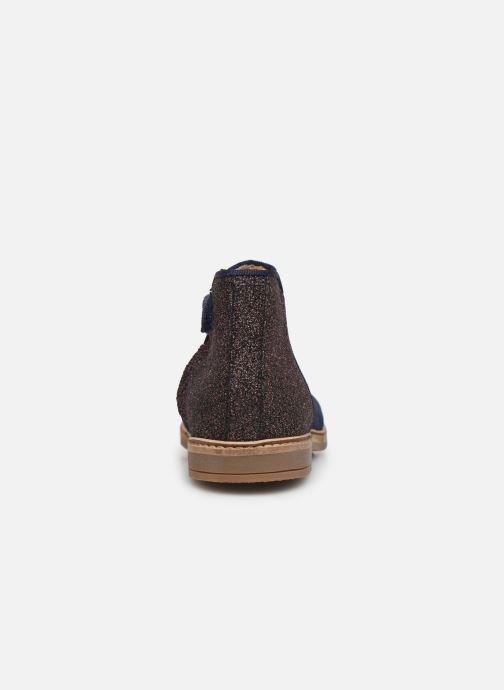 Boots en enkellaarsjes Pom d Api RETRO BACK Blauw rechts