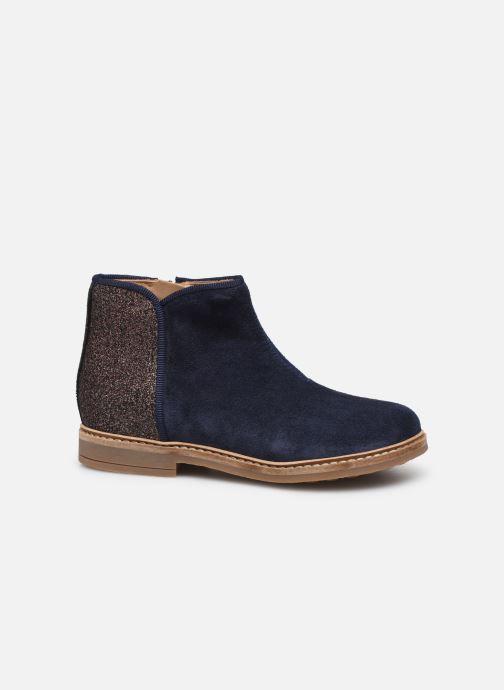 Bottines et boots Pom d Api RETRO BACK Bleu vue derrière