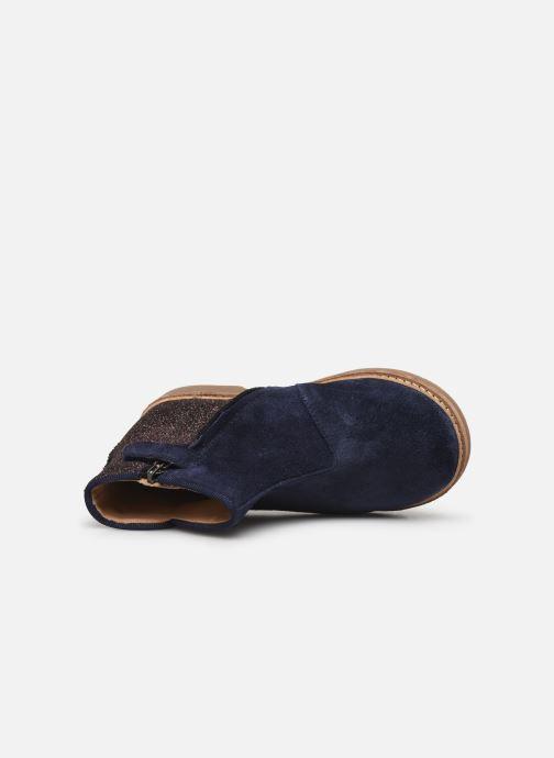 Bottines et boots Pom d Api RETRO BACK Bleu vue gauche