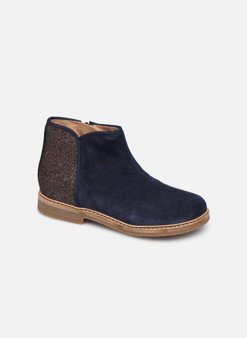 Boots en enkellaarsjes Pom d Api RETRO BACK Blauw detail