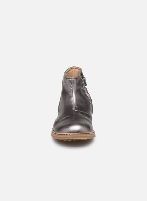Ankle boots Pom d Api RETRO BACK Silver model view