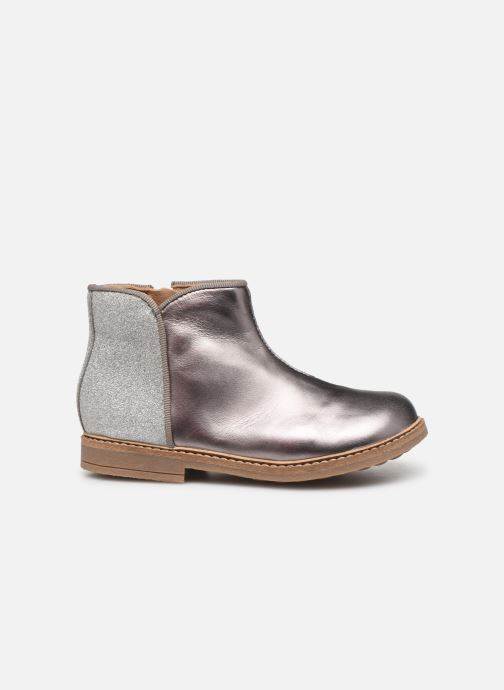 Ankle boots Pom d Api RETRO BACK Silver back view