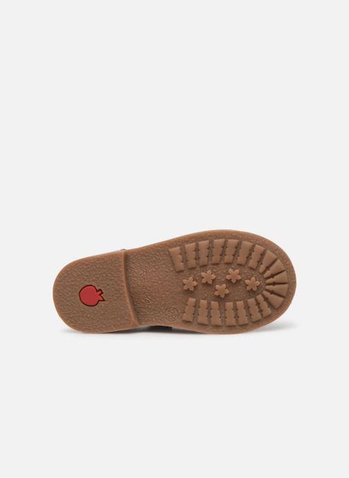 Stiefeletten & Boots Pom d Api RETRO BACK silber ansicht von oben