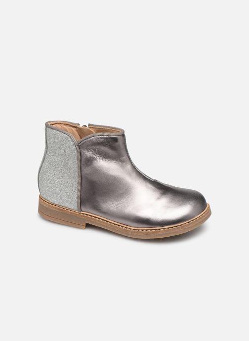 Ankelstøvler Pom d Api RETRO BACK Sølv detaljeret billede af skoene