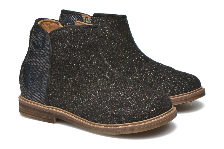 Bottines et boots Pom d Api RETRO BACK Noir vue 3/4