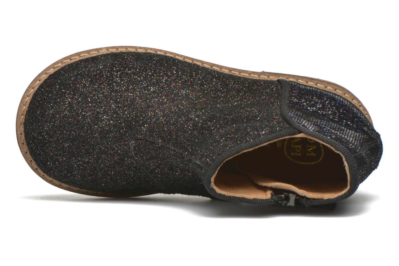 Bottines et boots Pom d Api RETRO BACK Noir vue gauche