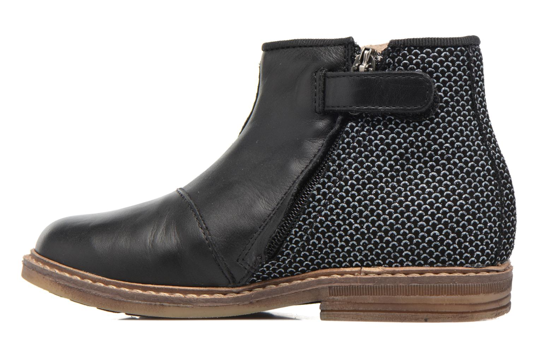 Ankle boots Pom d Api RETRO BACK Black front view