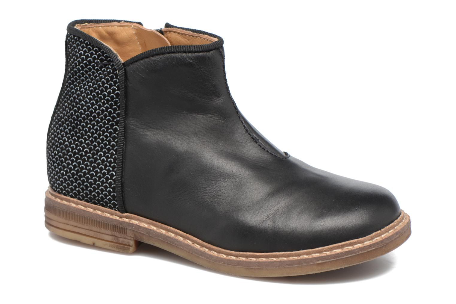 Ankle boots Pom d Api RETRO BACK Black detailed view/ Pair view