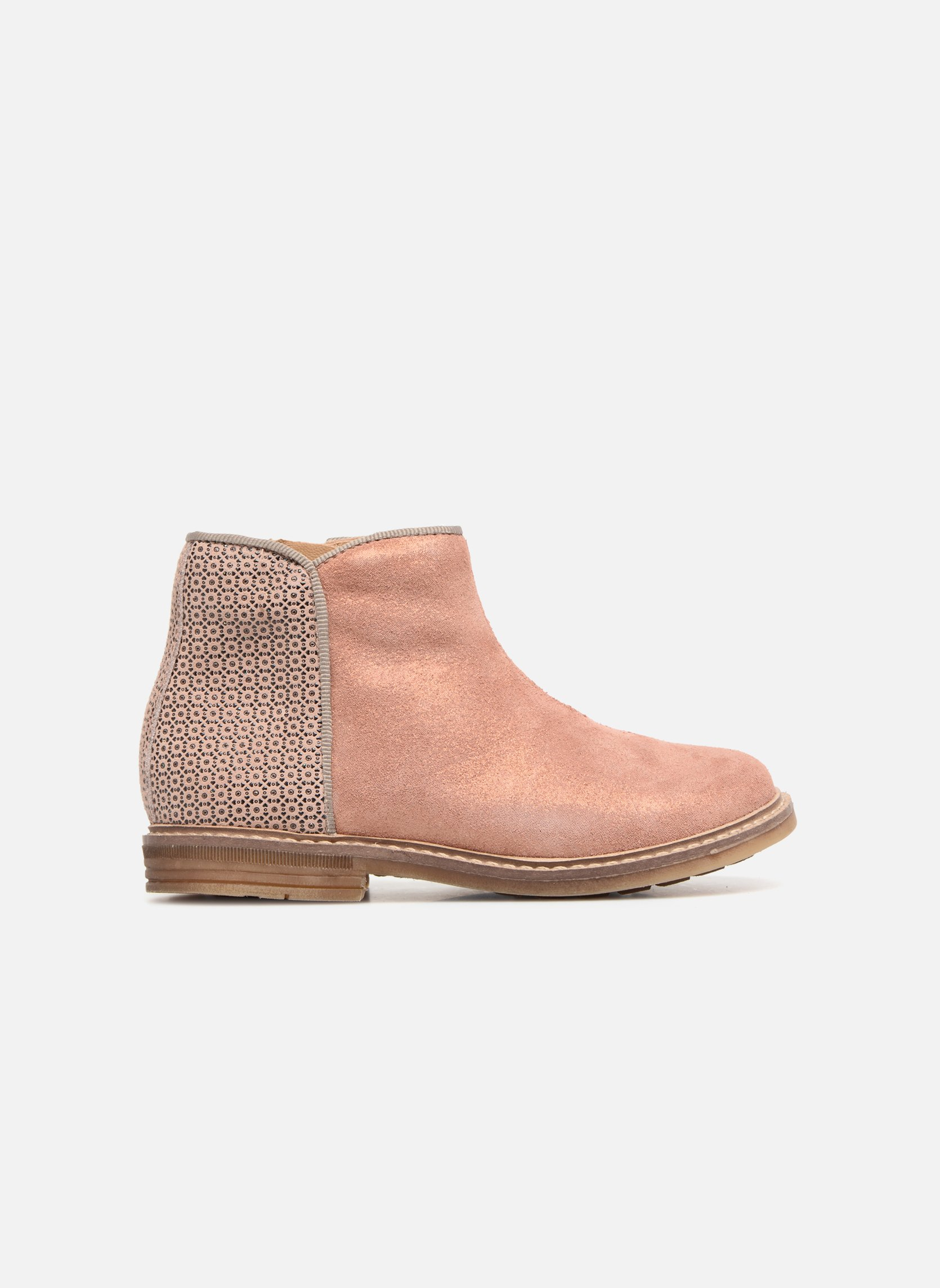 Ankle boots Pom d Api RETRO BACK Pink back view