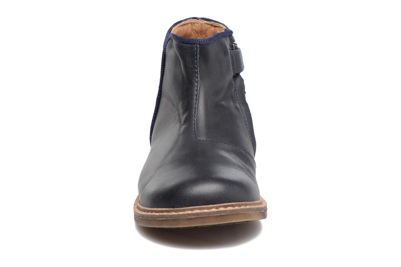 Ankle boots Pom d Api RETRO BACK Blue model view