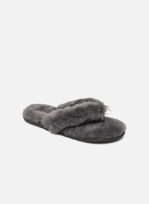 aa4473a01f59 UGG Fluff Flip Flop II (Grey) - Slippers chez Sarenza (197050)