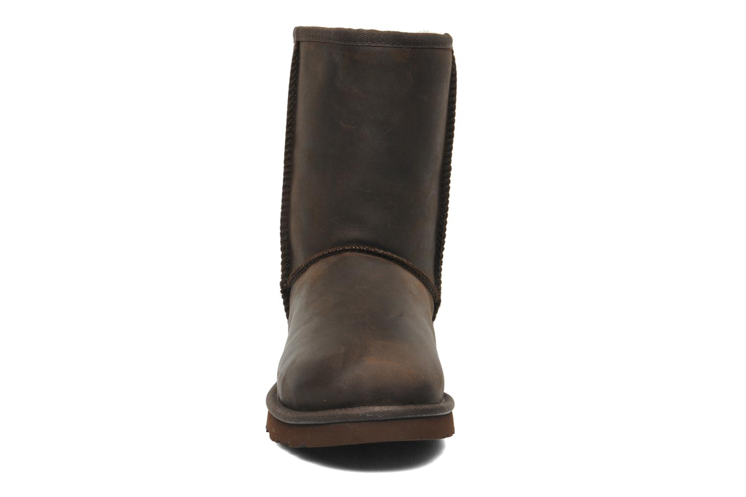 Ankle boots UGG Classic Short Leather Brown model view