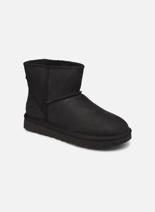 Boots en enkellaarsjes UGG Classic Mini Leather Zwart detail