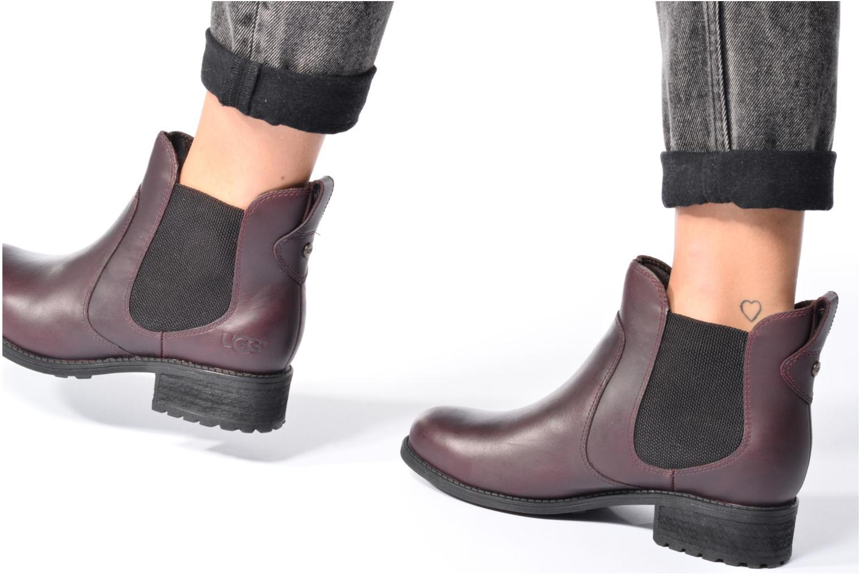 Bottines et boots UGG Bonham Noir vue bas / vue portée sac