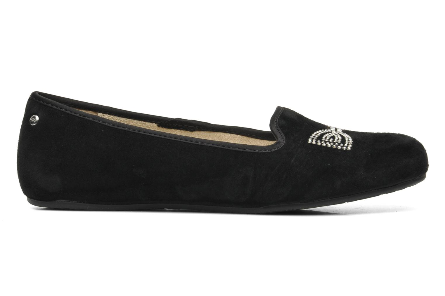 Chaussons UGG Alloway Crystal Bow Noir vue derrière