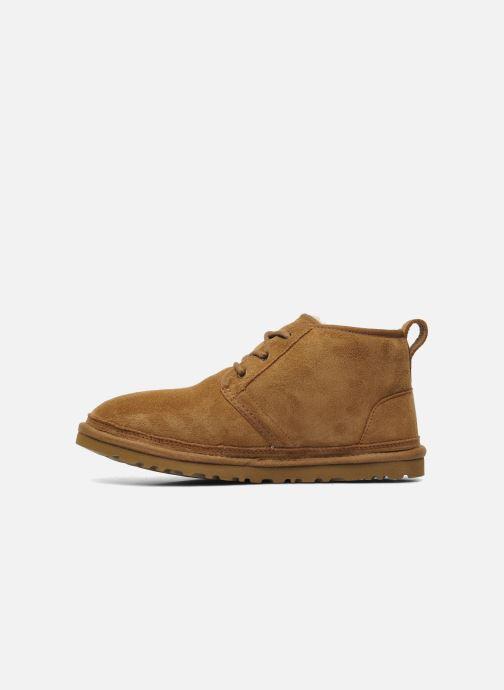 Chaussures à lacets UGG Neumel Marron vue face