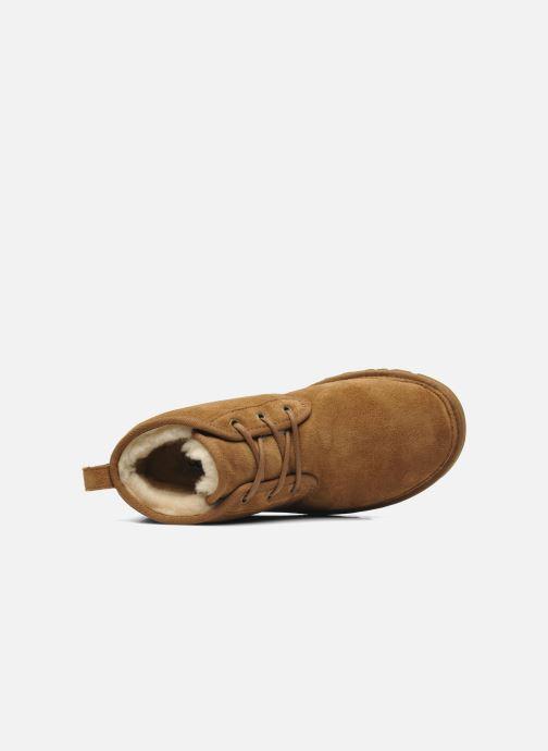 Chaussures à lacets UGG Neumel Marron vue gauche