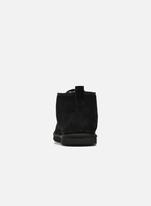Zapatos con cordones UGG Neumel Negro vista lateral derecha