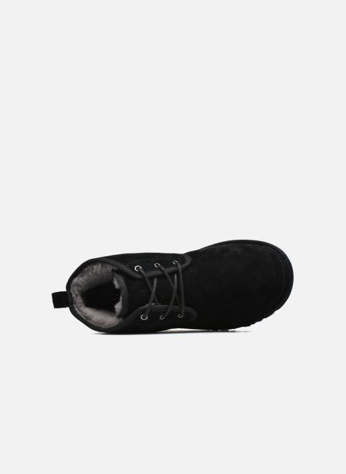 Zapatos con cordones UGG Neumel Negro vista lateral izquierda