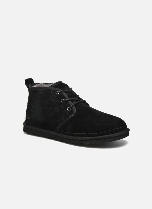Chaussures à lacets UGG Neumel Noir vue détail/paire