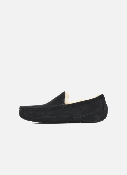 Slippers UGG Ascot Black front view