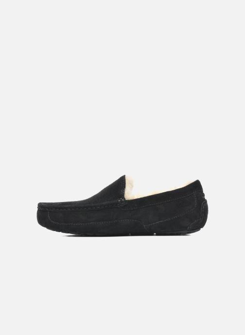Pantoffels UGG Ascot Zwart voorkant