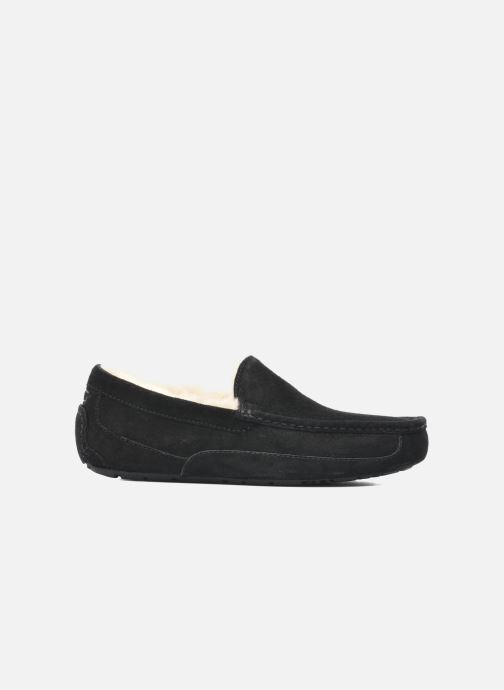 Slippers UGG Ascot Black back view