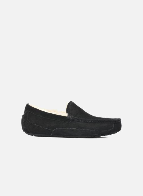 Pantoffels UGG Ascot Zwart achterkant