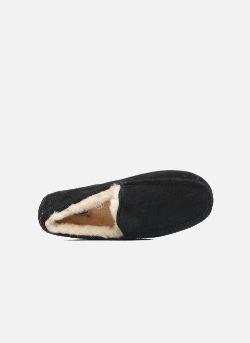 Chaussons UGG Ascot Noir vue gauche