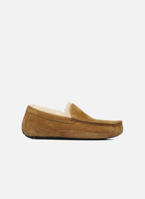Pantoffels UGG Ascot Beige achterkant