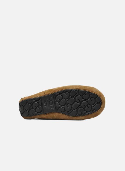 Pantoffels UGG Ascot Beige boven
