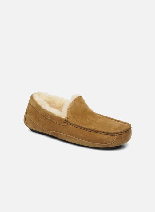 Slippers UGG Ascot Beige detailed view/ Pair view