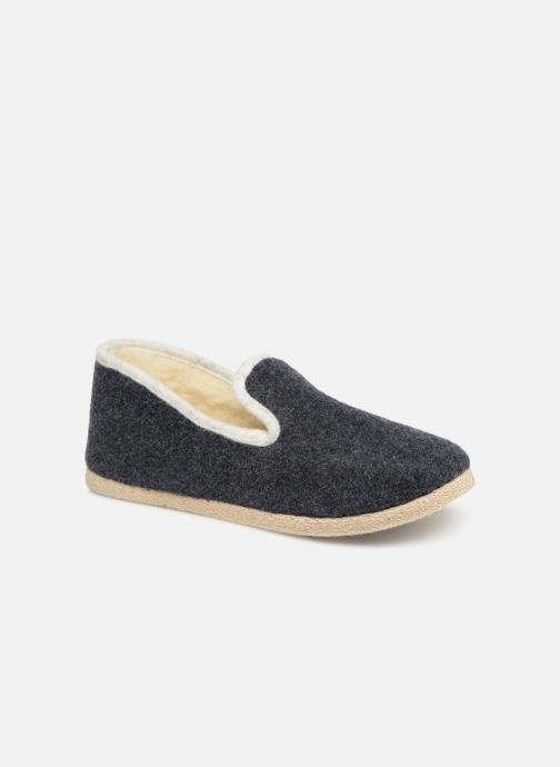Slippers Rondinaud Calmont M Blue detailed view/ Pair view