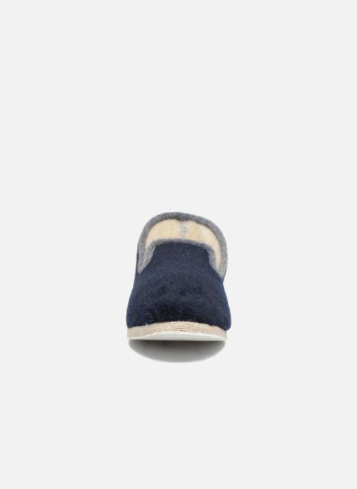 Chaussons Rondinaud Calmont M Bleu vue portées chaussures