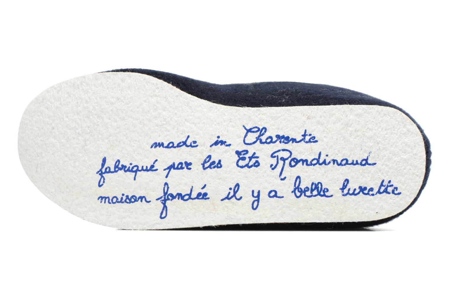 Slippers Rondinaud Calmont M Blue view from above