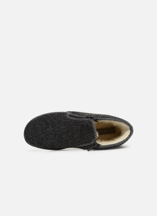 Slippers Rondinaud Gaillard Grey view from the left