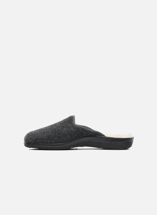 Slippers Rondinaud Gabillou Grey front view