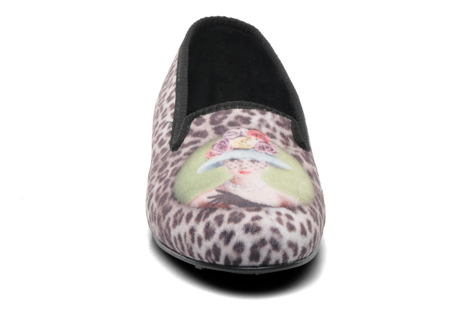 Slippers Rondinaud Clafoutis Multicolor model view