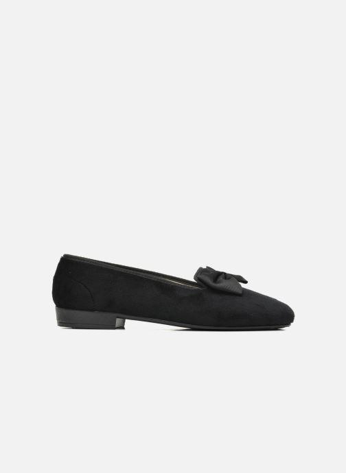 Pantofole Rondinaud Barberaz Nero immagine posteriore