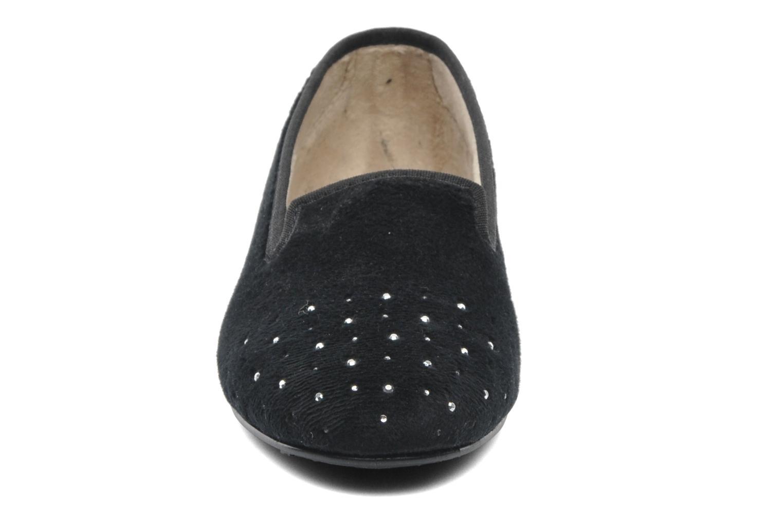 Hausschuhe Rondinaud Bairols schwarz schuhe getragen