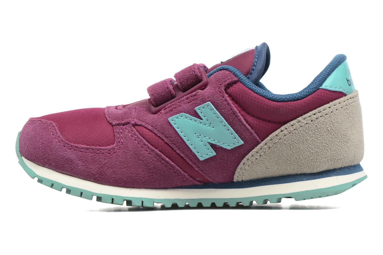 Sneaker New Balance KE420 M lila ansicht von vorne