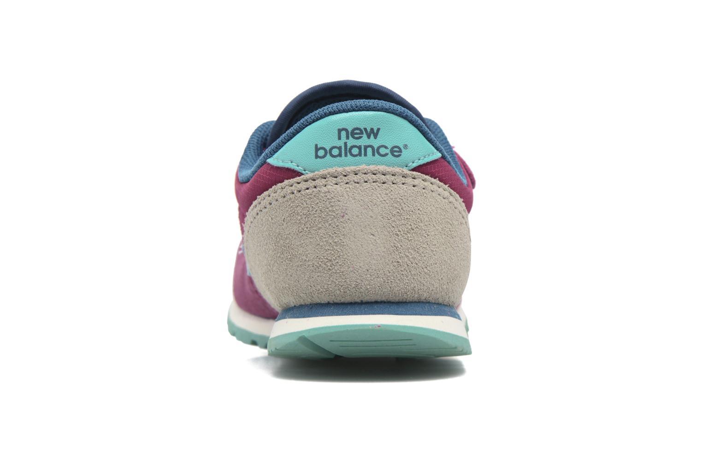 Sneaker New Balance KE420 M lila ansicht von rechts