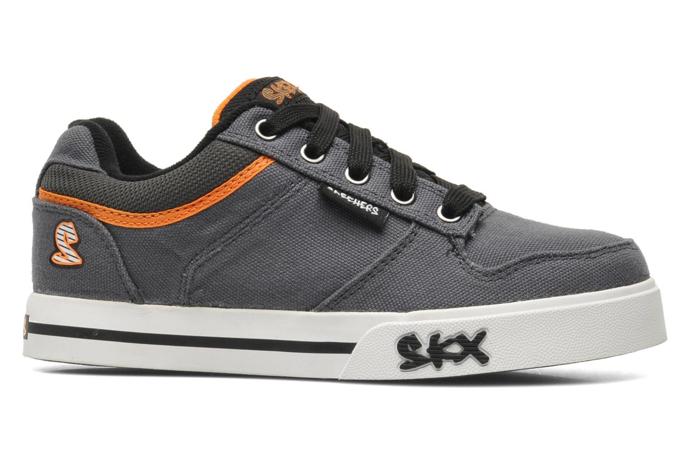 Sneaker Skechers Vert II Kick Flipz grau ansicht von hinten
