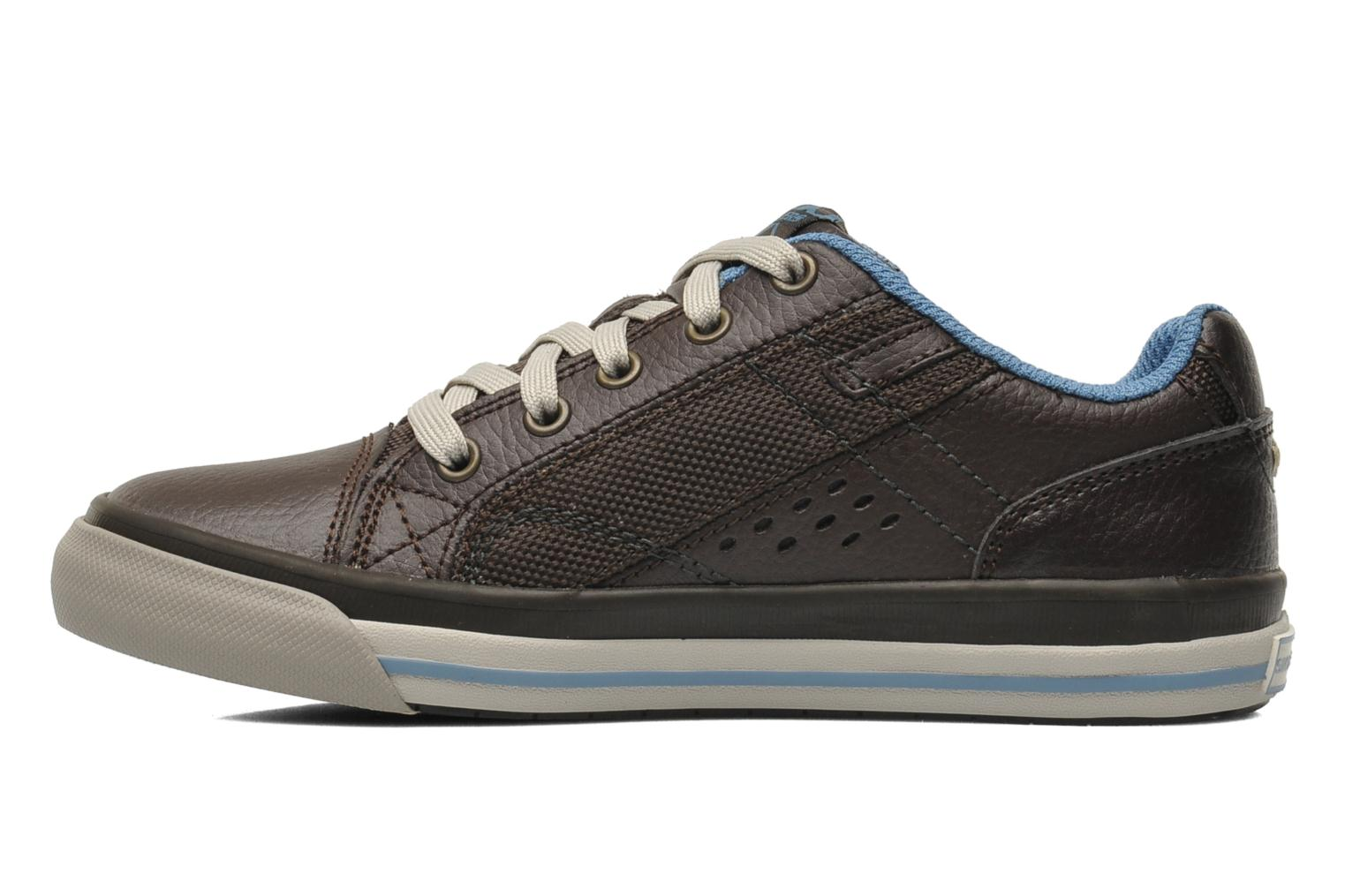 Trainers Skechers Diamondback Brown front view
