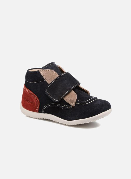 56b50d72fefee Kickers Bono (Bleu) - Chaussures à scratch chez Sarenza (308353)